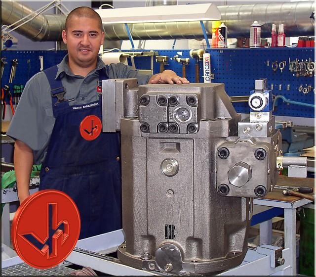 Instandsetzung Hydraulikpumpe Rexroth